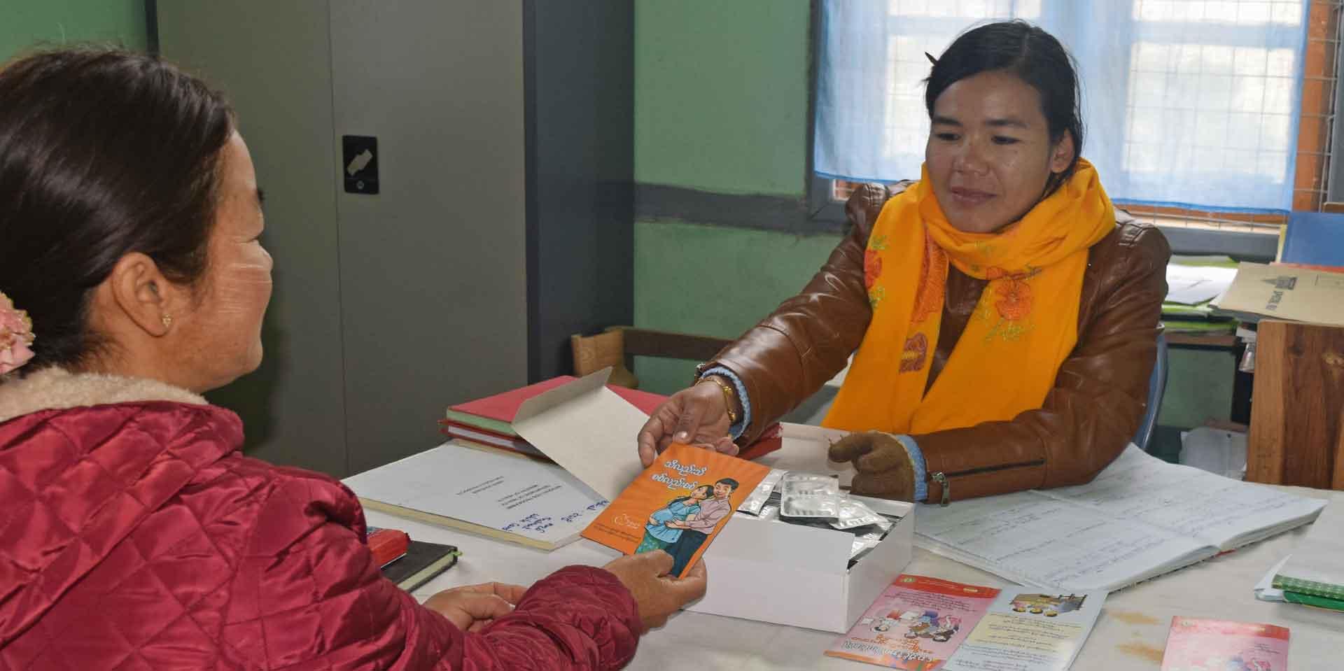 In Myanmar, only sickest HIV patients get drugs